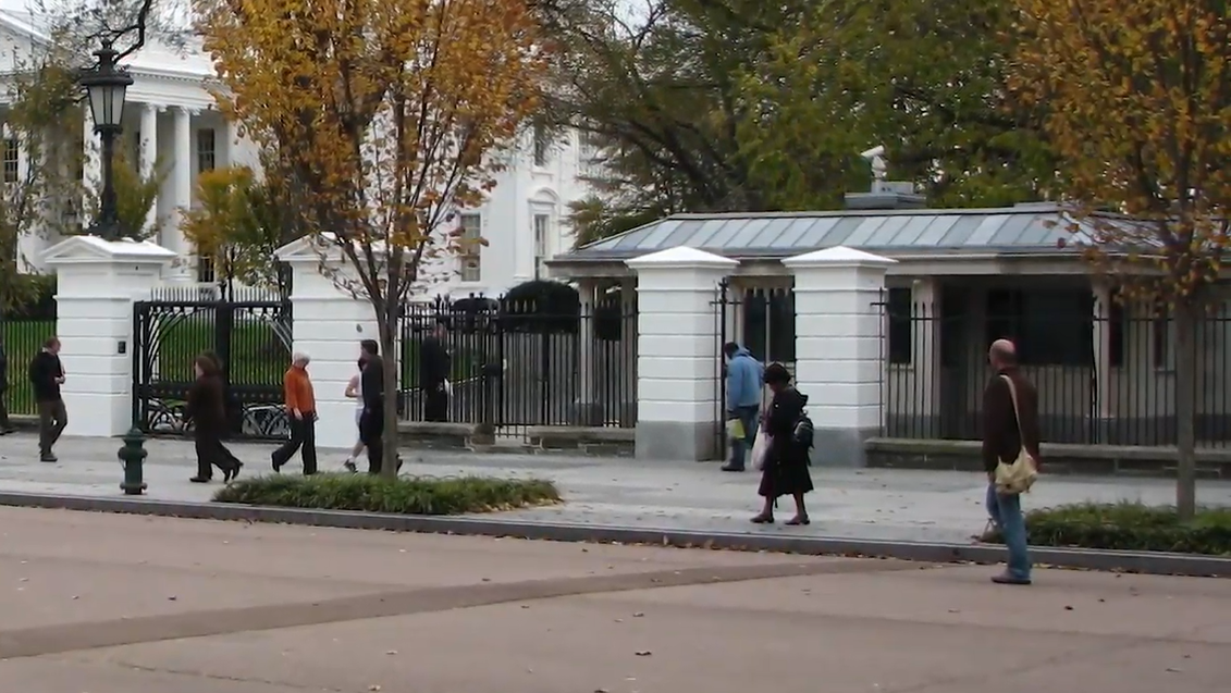 White House Guard Buildings